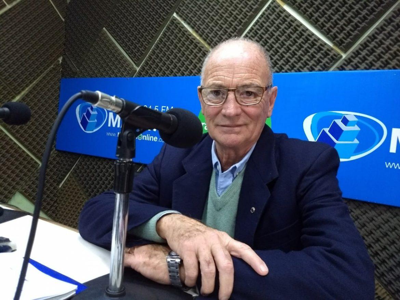 Carlos Muñoz, presidente del Club de Leones de Gualeguaychú